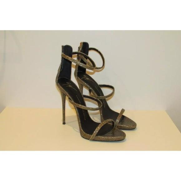 Giuseppe Zanotti Harmony Sandals Gold